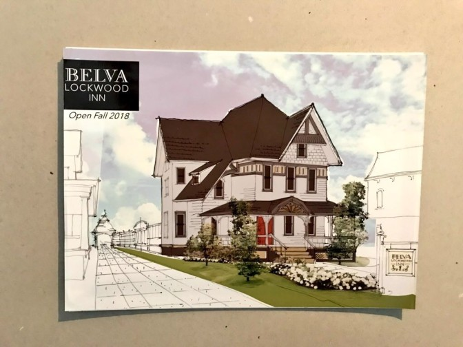 Belva Lockwood Inn Rendering