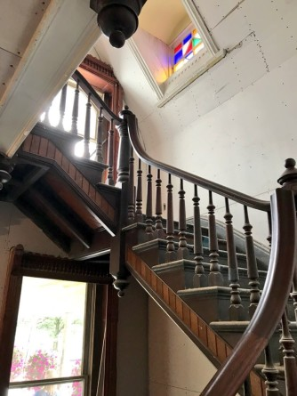 Belva Lockwood Inn Grand Staircase